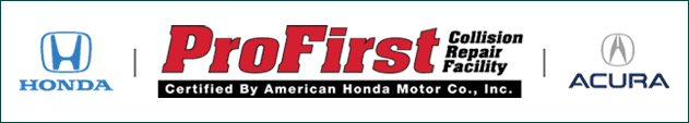Honda Collision Repair certified